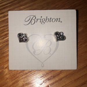 Brighton earrings with heart pattern